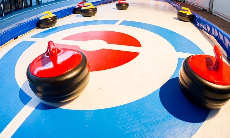 Afbeeldingsresultaat voor curlingbaan huren